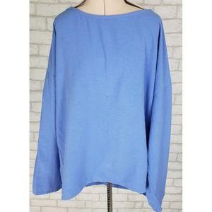 Soft Surroundings Dolman Sleeve Hi-Lo Shirt M